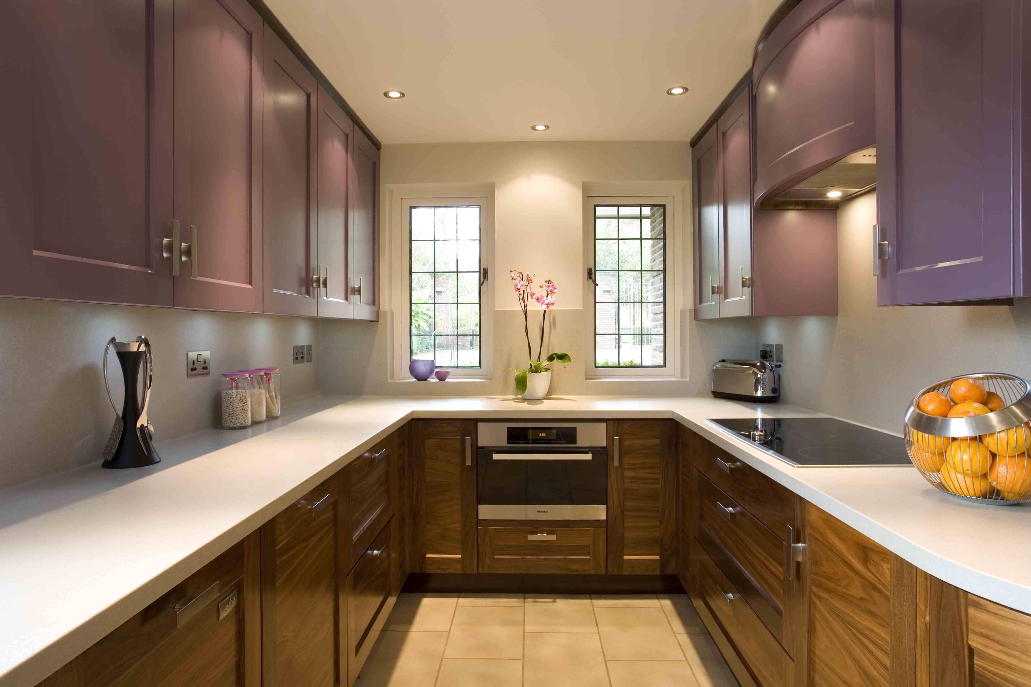 Кухня двухрядная 6 кв м дизайн