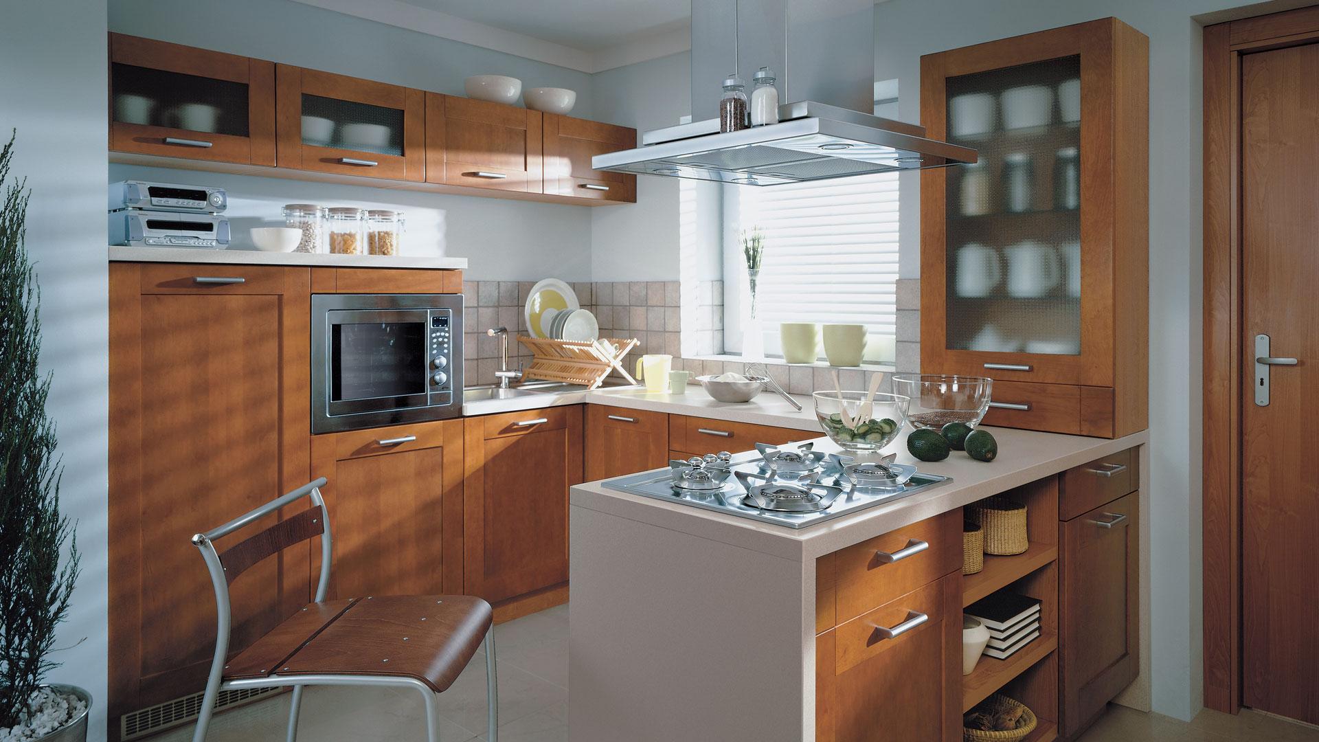 кухня с полуостровом фото дизайн там мир